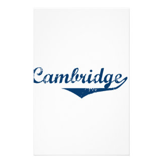 Cambridge Customized Stationery