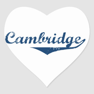 Cambridge Heart Sticker