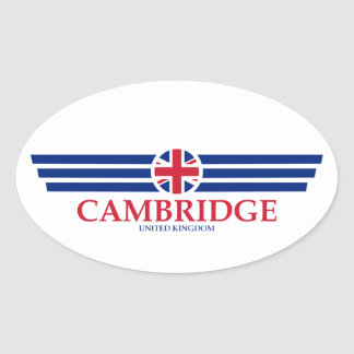 Cambridge Oval Sticker