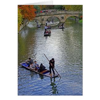 Cambridge Punting Card