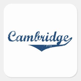 Cambridge Square Sticker