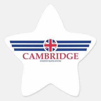 Cambridge Star Sticker