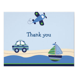 Cambridge Transportation Thank You Note Cards