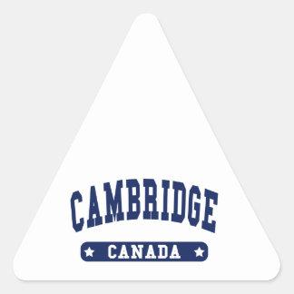 Cambridge Triangle Sticker