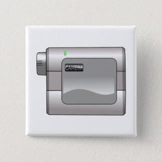 Camcorder 2 Inch Square Button