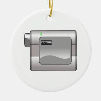 Camcorder Ceramic Ornament