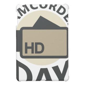 Camcorder Day - Appreciation Day iPad Mini Covers
