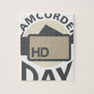 Camcorder Day - Appreciation Day Jigsaw Puzzle