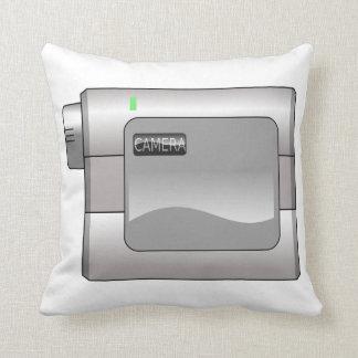 Camcorder Throw Pillow