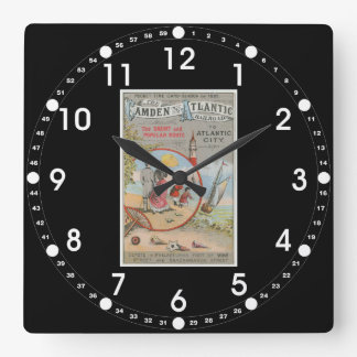 Camden and Atlantic Railroad Wall Clock