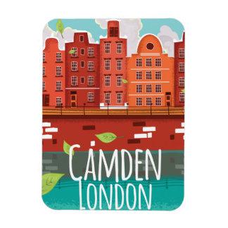 Camden, London vintage travel poster Magnet
