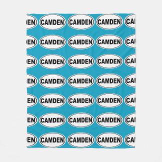 Camden Maine Fleece Blanket