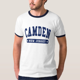 Camden New Jersey College Style t shirts
