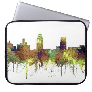 Camden New Jersey Skyline SG Safari Buff Laptop Sleeve