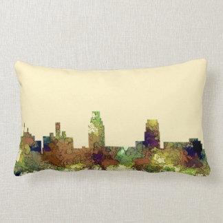 Camden New Jersey Skyline SG Safari Buff Lumbar Pillow