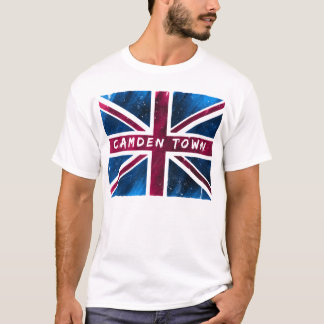 Camden Town - United Kingdom Union Jack Flag T-Shirt