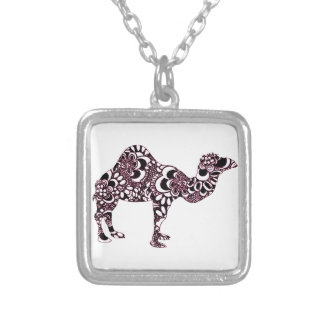 Camel 2 silver plated necklace