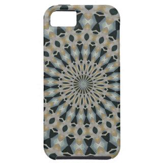 Camel and Teal Kaleidoscope iPhone 5 Case