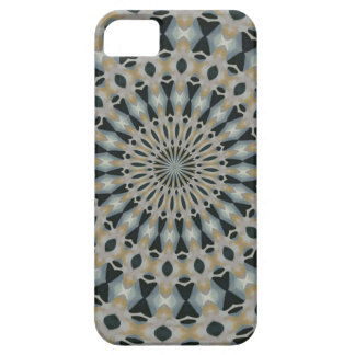 Camel and Teal Kaleidoscope iPhone 5 Cover