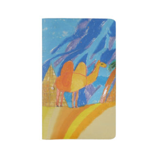 Camel Art by Kids Large Moleskine Notebook