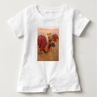 Camel Baby Romper