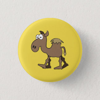 Camel Badge 1 Inch Round Button