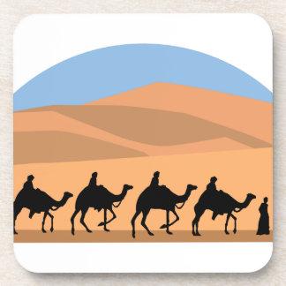 Camel Caravan Beverage Coasters