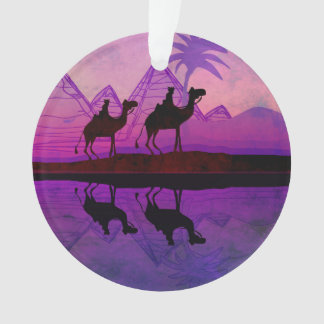 Camel caravan decoration