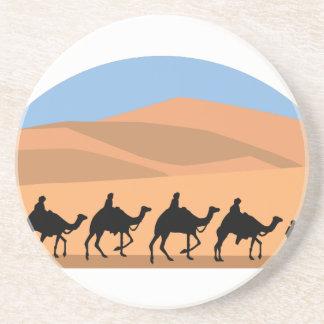 Camel Caravan Drink Coasters