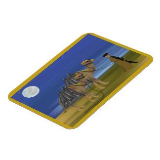Camel Caravan Premium Magnet