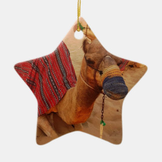 Camel Ceramic Ornament