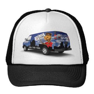 Camel City Signs Van Trucker Hat