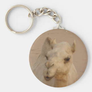 Camel close up keychain