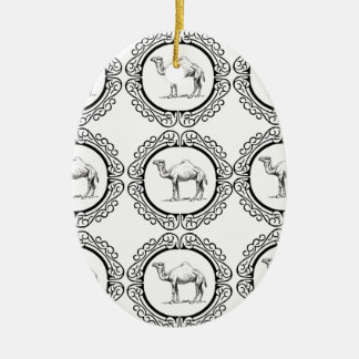 Camel Cluster Ceramic Ornament