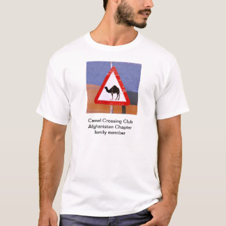 Camel Crossing Club Afghanistan Chapter family T-Shirt