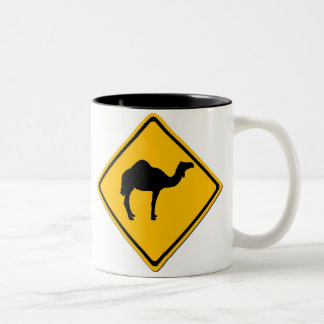 Camel Crossing Mug