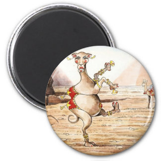 Camel Dance 2 Inch Round Magnet