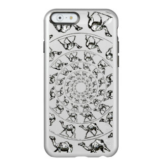 Camel Drawing Illustration Black Ink Incipio Feather® Shine iPhone 6 Case