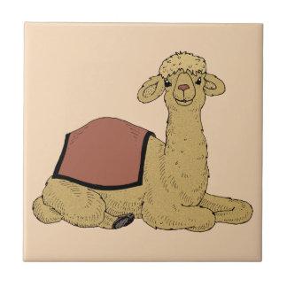 Camel dromedary camel dromedary tile