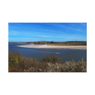 Camel Estuary Cornwall Canvas Print