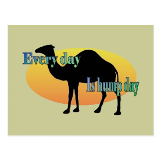 Camel - Every Day is Hump Day Postcard