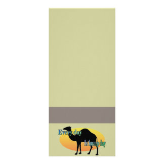 Camel - Every Day is Hump Day! Rack Card