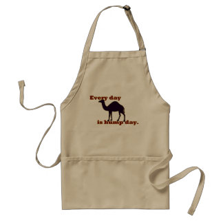 Camel - Every Day is Hump Day Standard Apron