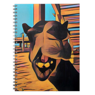 Camel Face Notebook - 80 Page