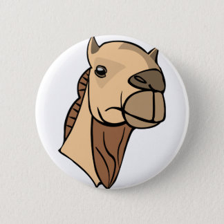 Camel Head 2 Inch Round Button