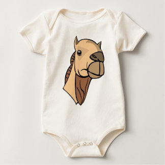 Camel Head Baby Bodysuit