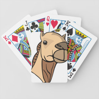 Camel Head Bicycle Playing Cards