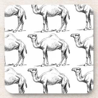 Camel herd art coaster