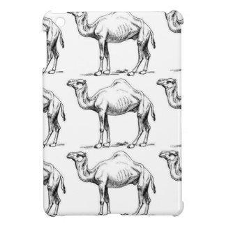 Camel herd art iPad mini case