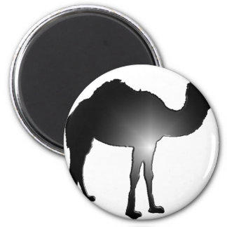 Camel illusion 2 inch round magnet